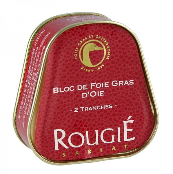 Rougie - Gänseleberblock Trapez 98% Foie Gras Rougié