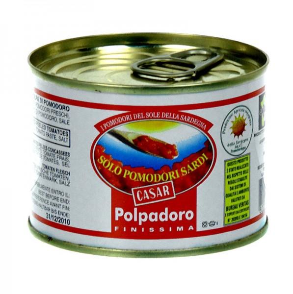Casar - Polpadoro Finisima - Tomatenzubereitung leicht gesalzen aus Sardinien