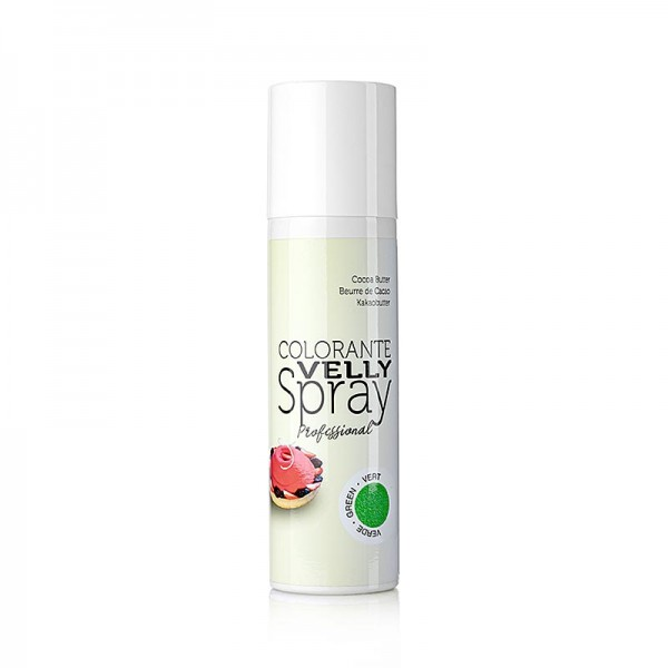 Velly Spray - Kakaobutter Spray Velvet/Samt Effekt grün Velly