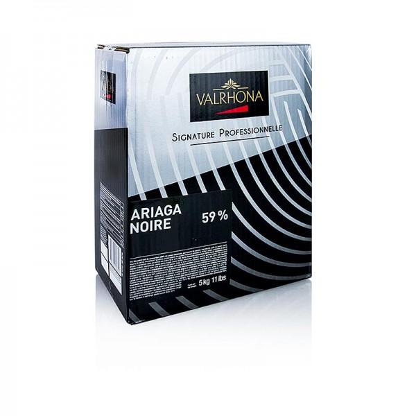 Valrhona - Ariaga Noire Zartbitter Couverture Callets 59% Kakao
