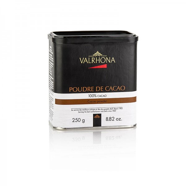 Valrhona - Kakaopulver stark entölt 10% Kakaobutter Valrhona