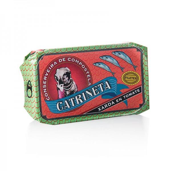 Catrineta - Makrelenfilets (xarda en tomate) ganz in Tomatensoße Catrineta