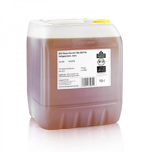 Bioland - Rapskernöl kaltgepresst aus geschälter Rapssaat nativ BIO