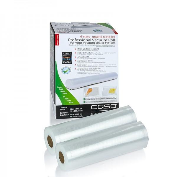 Caso - Folienrollen 20x600cm für FastVac