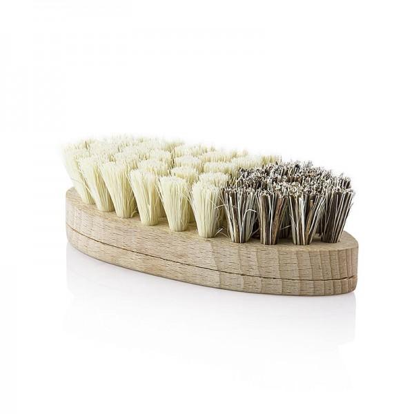 Greenplan - Gemüsebürste Buchenholz Agaven und Palmborsten handgefertigt