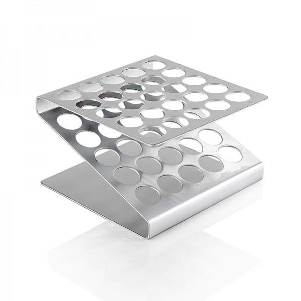 100% Chef - Aluminium Display für 25 x 15ml Tuben zum Befüllen