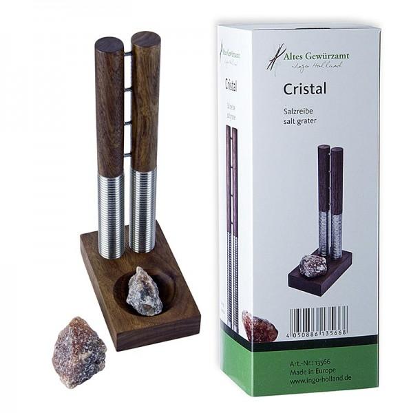 Altes Gewürzamt - Cristal Salzreibe und Bergkernsalz Brocken Altes Gewürzamt-Ingo Holland Edition