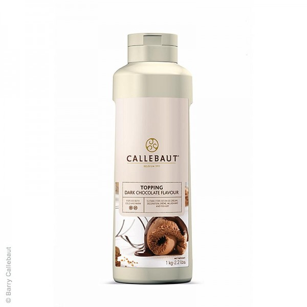 Callebaut - Schokoladensauce Topping warm & kalt verwendbar Callebaut