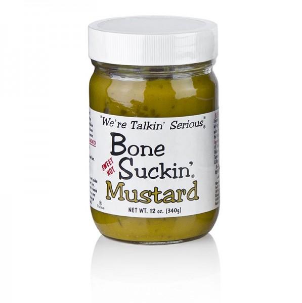 Bone Suckin' - Bone Suckin´ Mustard Sweet and Hot BBQ Senf Ford´s Food