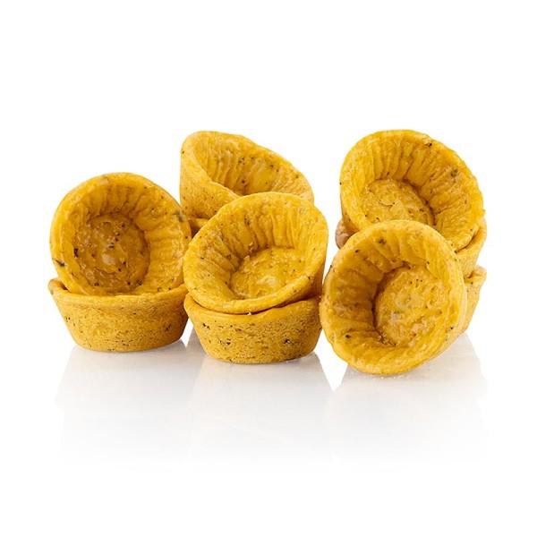 Hug - Snack-Tartelettes - Mini Tomate-Basilikum-Teig rund ø 4.2cm salzig
