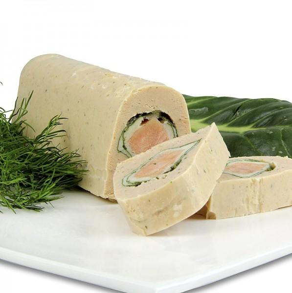 Deli-Vinos Sea Food - Lachsterrine mit frischem Mangold und Lachskern,TK