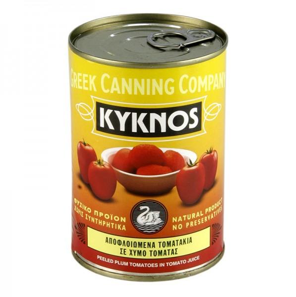 Kyknos - Geschälte Tomaten ganz Kyknos Griechenland