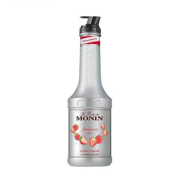 Monin - Fruchtpüreemix - Erdbeere gezuckert mit Ausgießer