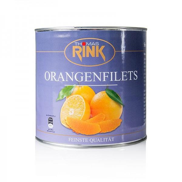 Thomas Rink - Orangen-Filets - kalibrierte Segmente leicht gezuckert