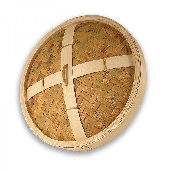 Deli-Vinos Kitchen Accessories - Deckel für Bambusdämpfer ø 35cm außen ø 33cm innen 14.5 inch